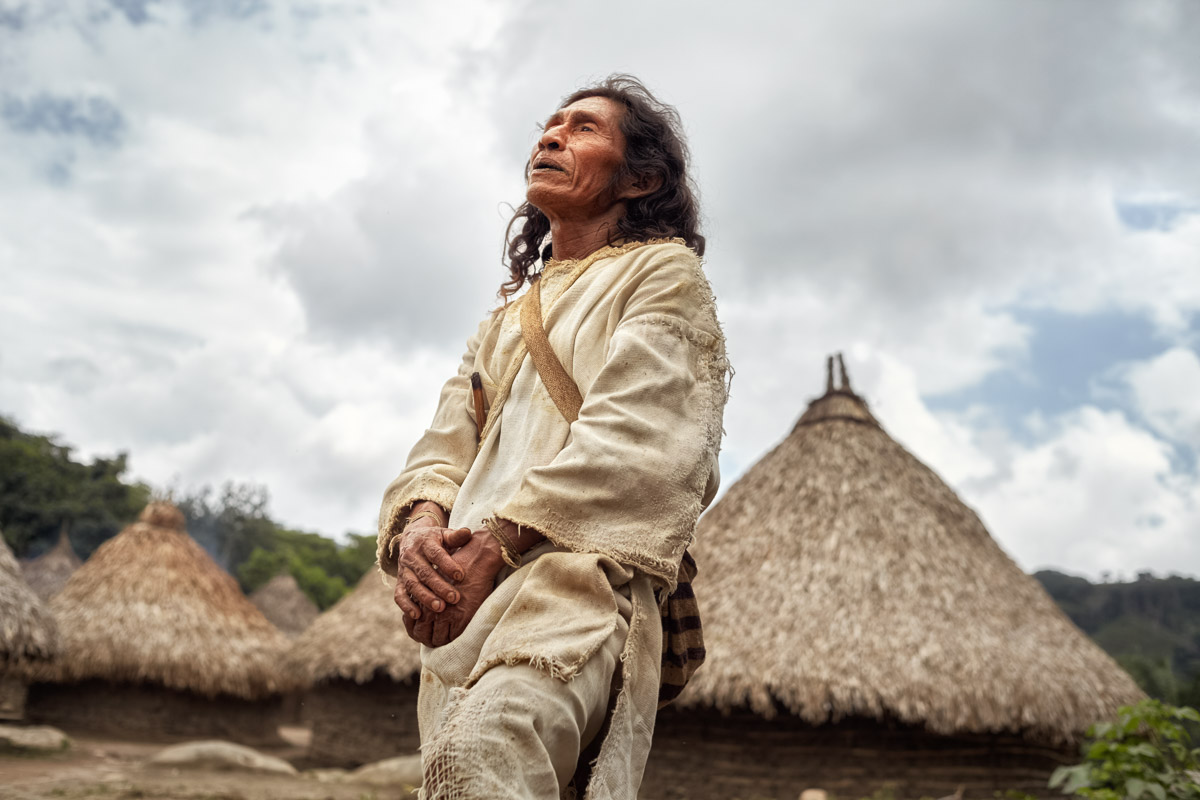 Kogi Kogui People Colombia Photos Editorial